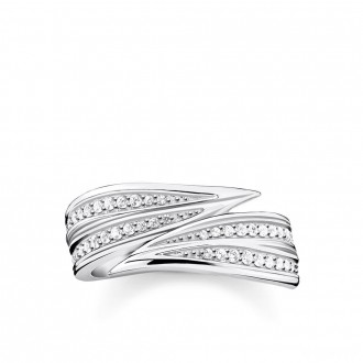 ring leaves silver