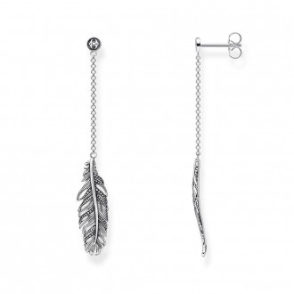 earring feather